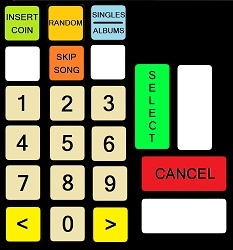 Targus DWJukebox Keypad